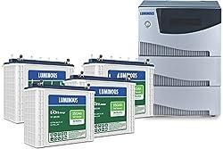 Luminous Cruze 2KVA Inverter With EC 18036 Battery (2 Batteries)