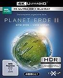 Planet Erde II: Eine Erde - viele Welten  (4K Ultra HD) (2 BR4K) (+2 BRs) [Blu-ray] -
