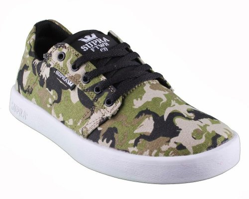 SUPRA KIDS WESTWAY CAMO – WHITE Multicolore