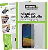 dipos I 2X Schutzfolie matt passend für Motorola Moto G5 Folie Bildschirmschutzfolie