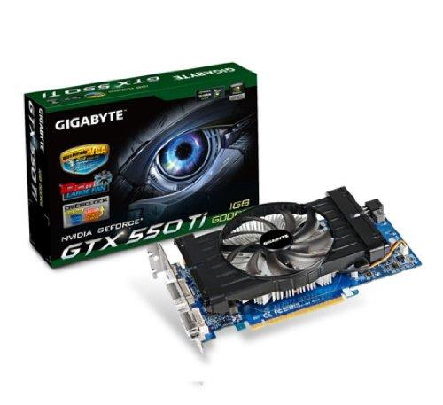 Gigabyte NVIDIA GTX550TI 1GB PCI-E scheda grafica