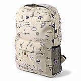 Amayay Rücksack Teenager Erwachsene Vintage Casual Daypacks Stylisch Backpack Schultasche Reisender...