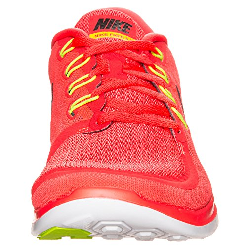 Nike  Free 5.0, chaussures sport homme Rouge - Rouge