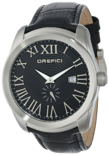 Orefici Unisex ORM8S4401 Classico Small Seconds Slim Classy Sleek Watch