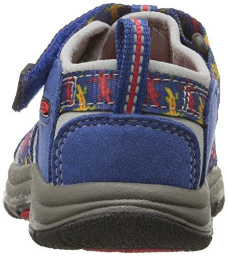 Keen Unisex-Kinder Newport H2 Sandalen Trekking-& Wanderschuhe Blau (True Blue Lizard)