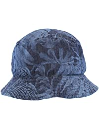The Hat Company Men's Reversible Bucket Hat With Palm Tree Design
