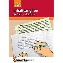 13c93dda7783c Suchergebnis auf Amazon.de für  inhaltsangabe übungen  Bücher