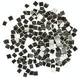 uGems Argento Saldatura pretagliati Pezzi Assortiti Dimensioni densità Chop Chip Flux Coated, Lega per saldare M, 2 mm