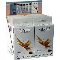 """Glyde Ultra Vorteilspack""""Maxi"""": 10 x 10 große Condome, vegan! preisvergleich bei billige-tabletten.eu"""