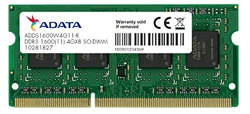Adata Premier Adt Ddr3 So-dimm 1600 4gb Ram