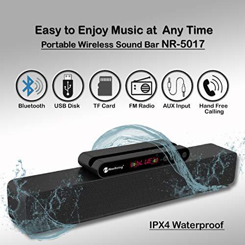 INNO MAX NewRixing TWS Portable Bluetooth Sound Bar Model No:NR-5017