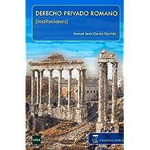 Derecho privado romano : instituciones