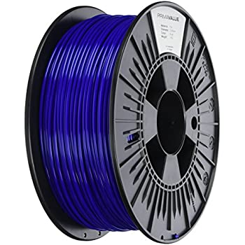 Prima Filaments PV-PLA-285-1000-BU PLA Filament für 3D-Drucker, 2.85 mm, 1 kg spule, Blau