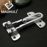 #8: MADHULI® Exclusive Super Strong Door Chain Door Guard/Security Latch (Satin Matt Finished) for Safe and Secure Home and Office