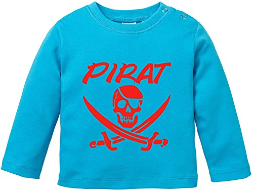 EZYshirt® Pirat Baby T-Shirt Longsleeve
