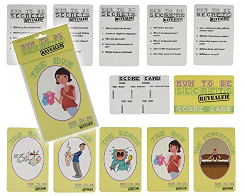 Mum to Be Secrets Revealed Baby Shower Game