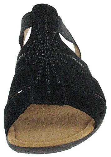 "Gabor Honesty "", Sandale Damen Noir - noir"