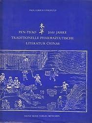 Pen-Ts'ao. 2000 Jahre traditionelle Pharmazeutische Literatur Chinas. Mit zahlr. s/w. Abb., 2 farb. Abb., Anmerk., Personenverz., Register der Sach- und Stichworte, chin. Drogennamenverz., Buchtitelverz., Bibliographie. Blauer OLnbd, geprgt. Titelvignette - sauberes feines Exemplar. - 256 S. (pages)