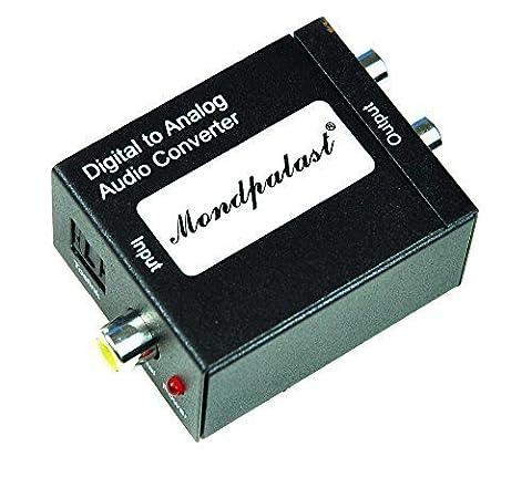 Convertisseur pour convertir le toslink ou coaxial en signal analogique