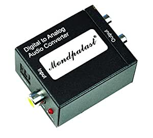 Convertisseur pour convertir le toslink ou coaxial en signal analogique audio RCA