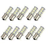 Auto-Umdrehungs-Signal-Licht 10 Stück Ersatz Brems Glühlampen Auto-Endstück-Unterstützungsrücklichter 1157 18SMD Ersatz Heckblinker LED-Birnen-Licht