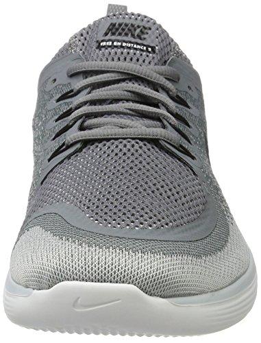 Nike Herren Free Rn Distance 2 Laufschuhe Mehrfarbig (cool Grigio / Nero / Grigio Lupo / Invisibile)