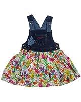 Pampolina Girls Dress Bib Dress, Floral