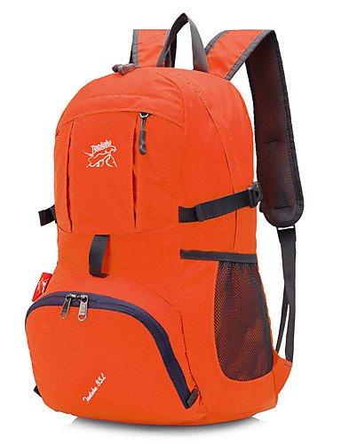 HWB/ 45 L Tourenrucksäcke/Rucksack / Travel Organizer / Rucksack Camping & Wandern DraußenWasserdicht / Schnell abtrocknend / tragbar / Orange