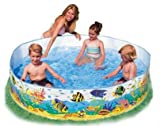 #4: Snap Set Baby Pool Bath Water Tub for Kids - 6ft x 15 inch (1.83m x 38cm)