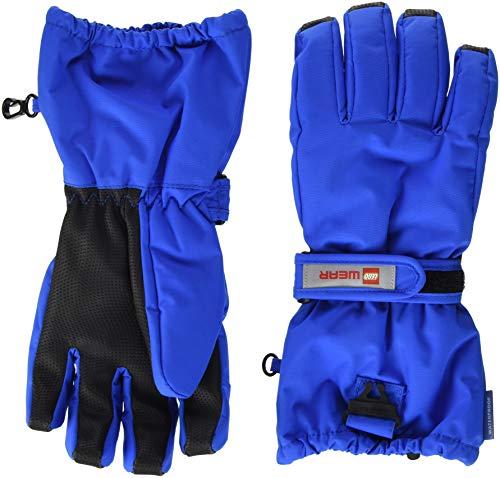 Lego Wear Handschuhe Tec Jungen Aiden 703, Blau (Blue 541), 7 (Herstellergröße: 146/152)