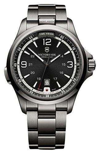 Victorinox Swiss Army Herren-Armbanduhr Analog Quarz Edelstahl beschichtet 241665