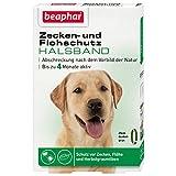 Beaphar 13791 Zecken- und Flohschutz Halsband, Hunde, 65 cm, grün