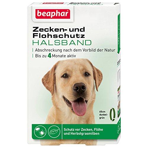 beaphar-13791-zecken-und-flohschutz-halsband-hunde-65-cm-grun
