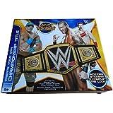 WWE Kit para hacer tu propio cinturón de campeón de los pesos pesados, incluye el logotipo de la WWE