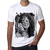 Photo de One in the City Janis Joplin Face, t Shirt Homme, t Shirt Pour Homme par One in the City