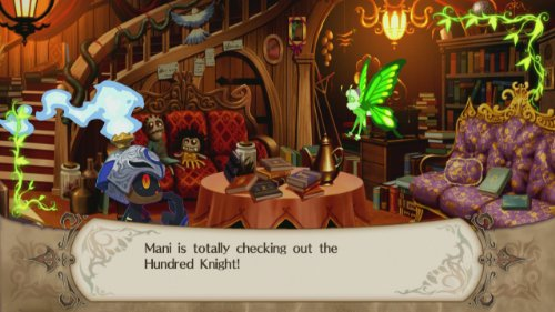 The Witch and the Hundred Knight  screenshot