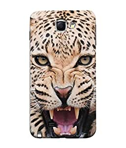 PrintVisa Designer Back Case Cover for Samsung Galaxy Note 2 :: Samsung Galaxy Note Ii N7100 (Roar Wild)