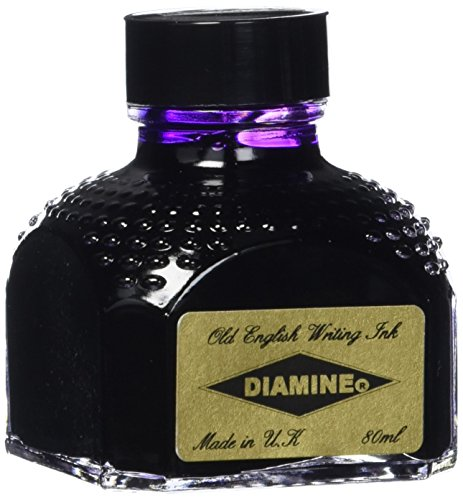 Diamine - Fountain Pen Ink, Imperial Purple 80ml