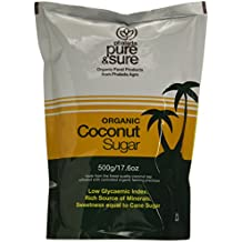 Pure and Sure Organic Coconut Sugar, 500g