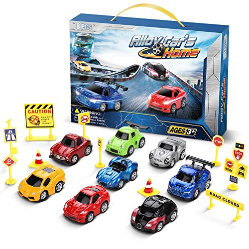 LENBEST Coches Juguete, Coches para niños, Coche metalico...
