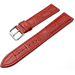 SZTARA Fashion Crocodile Genuine Leather Watch Band Straps Women Red Watch Acessory