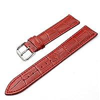 SZTARA Fashion Crocodile Genuine Leather Watch Band Straps Women Red Watch Acessory 20mm