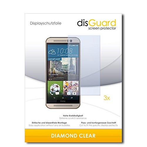 3 x disGuard® Schutzfolie HTC One M9s Bildschirmschutz Folie