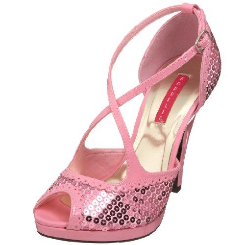 Bordello SIREN-07SQ B. Pink Sequins UK 6 (EU 39) - Bordello Siren