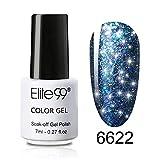 Elite99 UV LED Nagellack UV Schimmer Gel Nail Polish für Nails Art Peel Off Nagellack UV farbgel für gelnägel -6622