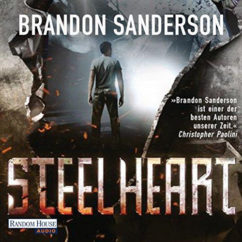 Buchseite und Rezensionen zu 'Steelheart' von Brandon Sanderson