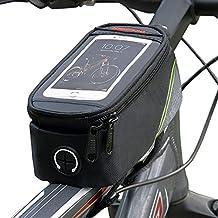 Línea Echelon Cesto para Móvil para Bicicleta de 2 ª generación, Bolsa frontal para teléfono celular, a prueba de agua y a prueba de golpes (5% cupón de descuento 489O2EXL)