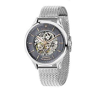 Reloj para Hombre, Colección Gentleman, con Movimiento automático Skeleton y función Solo Tiempo, en Acero – R8823136004