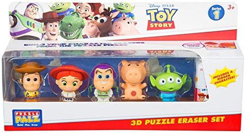 Toy Story 3D Puzzle Eraser Set Build Your Own Eraser (Girl Toy Story)