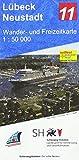 Lübeck - Neustadt 1:50 000: Wander- und Freizeitkarte 1:50 000 -